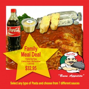 pasta chef family meal deal